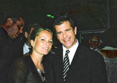 Susan Bäthge und Mel Gibson