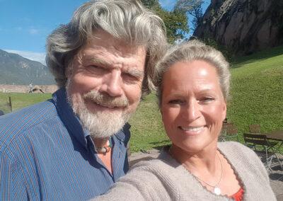 Susan Bäthge und Reinhold Messner