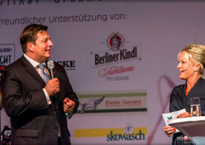 Susan Bäthge im Talk mit Berlins Innensenator Andreas Geisel